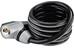 Trelock SK 350 Reflect - Candado de cable - negro